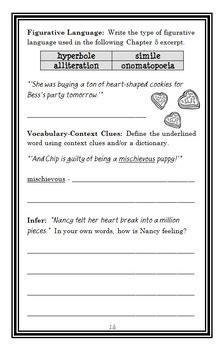 Nancy Drew and the Clue Crew: Valentine's Day Secret (Carolyn Keene) Novel Study