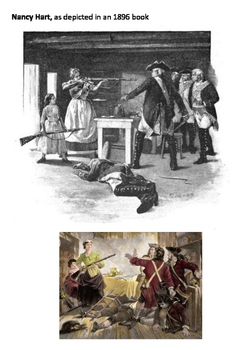 Nancy Hart American Revolutionary War Word Search