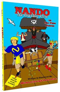 Nando The Healthy Hero vs. The Pizza Pirates (eBook)