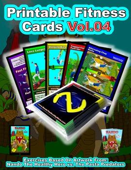 Nando's Fitness Cards Vol.04