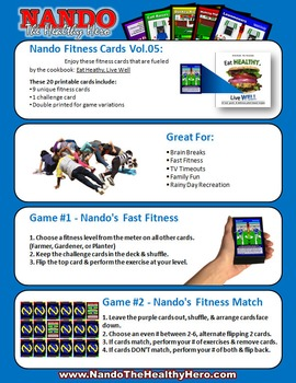 Nando's Fitness Cards Vol.05