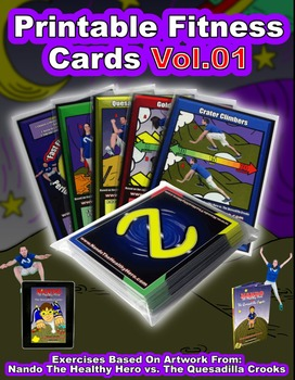 Nando's Fitness Cards Vol.01