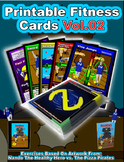 Nando's Fitness Cards Vol.02