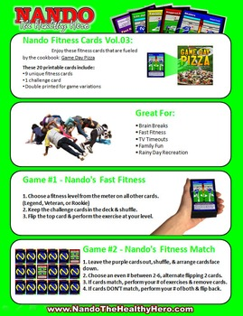 Nando's Fitness Cards Vol.03