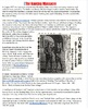 Nanking Massacre Reading and Worksheet