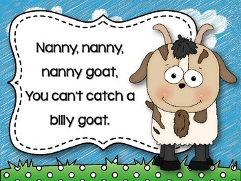 Nanny Goat {A Song to Teach Ta and Titi}