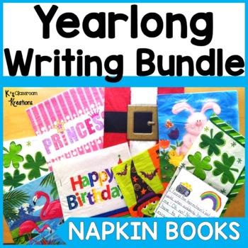 Napkin Books: Yearlong Writing Prompts Bundle