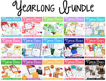 Writing Prompts for the Year Bundle