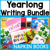 Napkin Book Writing Prompts for the Year Bundle