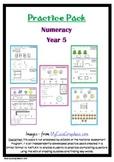 Naplan 5 week Numeracy practice pack - Grade 5