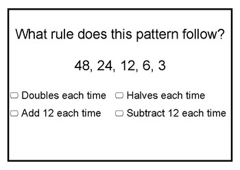 Naplan Preparation Year 3 maths (Number Strand)