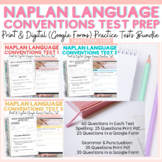 Naplan Tests Growing Bundle Print & Digital Google Forms