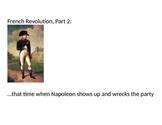 The Rise and Fall of Napoleon Bonaparte (Reading & Activity)