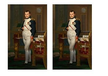 Napoleon Bonaparte Comic Strip and Storyboard