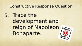 Napoleon Bonaparte PowerPoint Lecture