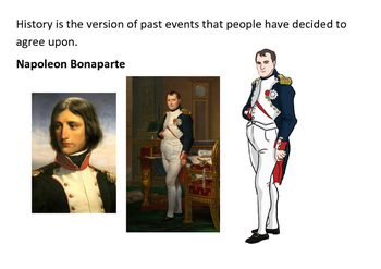 Napoleon Bonaparte Puzzle Message
