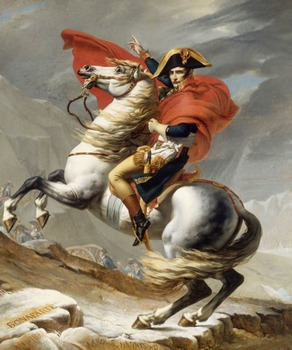 "Napoleon Bonaparte - Recreate ""Napoleon Crossing the Alps"" - French Revolution"