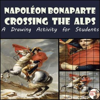 """Napoleon Bonaparte - Recreate """"Napoleon Crossing the Alps"""""""