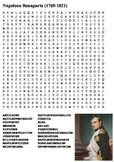 Napoleon Bonaparte Word Search