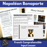 Napoleon Bonaparte - comprehensible input lesson for French learners