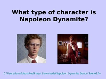 Napoleon Dynamite characterization Powerpoint
