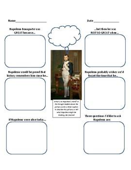 Napoleon Historical Figure Analysis - creative and fun!