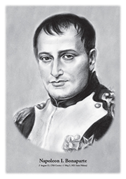 Napoleon I. Bonaparte - original illustration