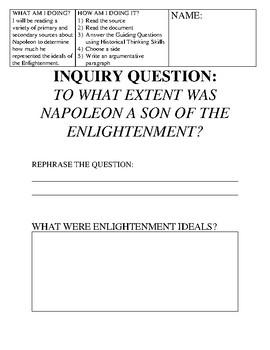 Napoleon Inquiry