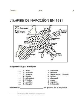 Napoléon / Molière / Astérix - 3 mini, content-based thematic units FR 1