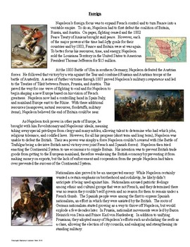 Napoleon Stations Activity