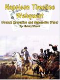 Napoleon Timeline Webquest (French Revolution and Napoleonic Wars)