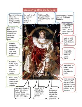 Napoleon Worksheet