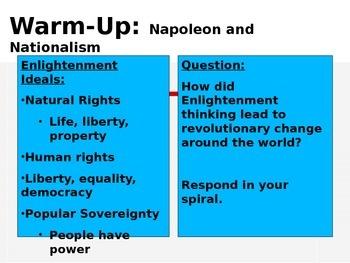 Napoleon and Nationalism