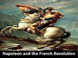 Napoleon and the French Revolution Power Point with Printable Notes & Worksheets