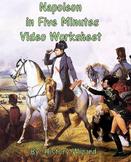 Napoleon in Five Minutes Video Worksheet