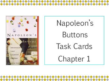 Napoleon's Buttons Chapter 1 Task Cards