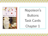 Napoleon's Buttons Chapter 1 Task Cards - Peppers, Nutmeg