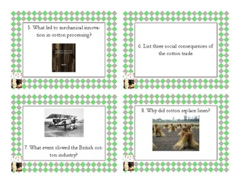 Napoleon's Buttons Chapter 4 Task Cards