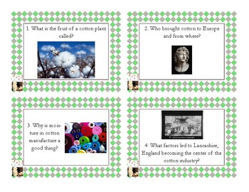 Napoleon's Buttons Chapter 4 Task Cards - Cellulose