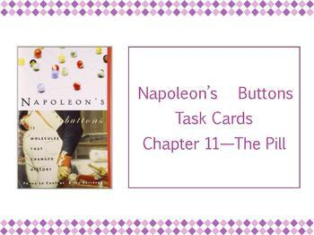 Napoleon's Buttons Task Cards - Complete set
