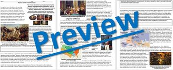 Napoleon & the French Revolution: Reading Guide Worksheet & Questions