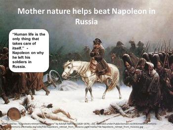 Napoleonic Era Graphic Organizer & Key