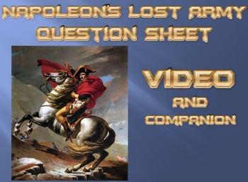 Napoleon's Lost Army (Invasion of Russia) Video and Companion