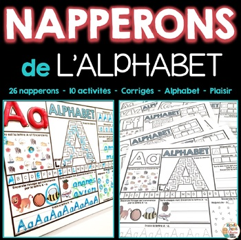Napperons de l'alphabet - French Alphabet Mats