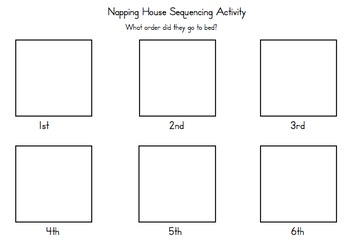 Napping House Emergent Reader amp Sequencing Activity By