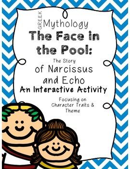 Narcissus and Echo Greek Mythology Interactive Folder Theme & Character Traits