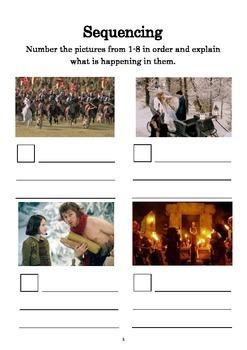 Narnia Comprehension Booklet