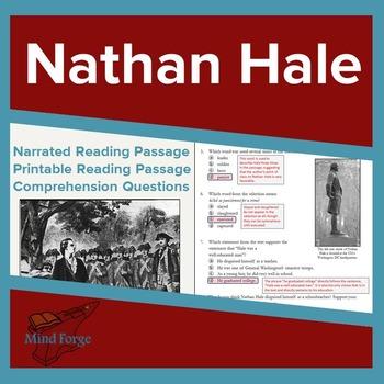 Narrated Listening Comprehension Bundle: Nathan Hale