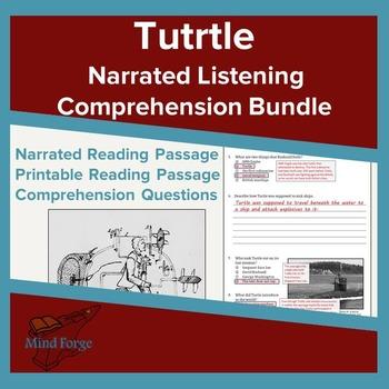 Narrated Listening Comprehension Bundle: Turtle