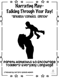 Narrating Play Parent Handouts for Early Intervention- SPANISH